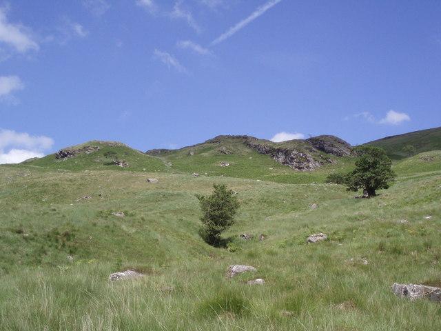 Craig on hillside