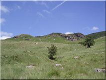 NN5214 : Craig on hillside by Angela Mudge