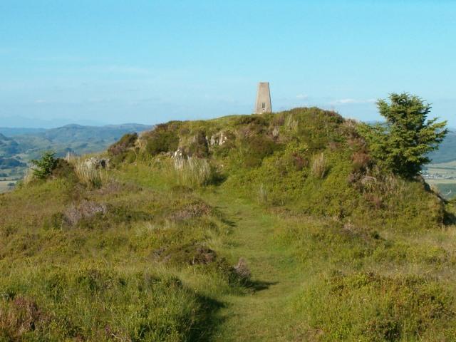 Triangulation pillar at Dunardry