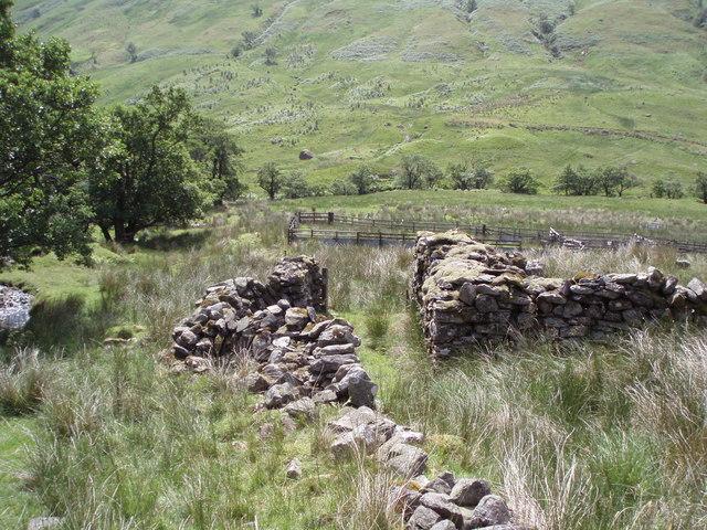 Ruins and sheep pens