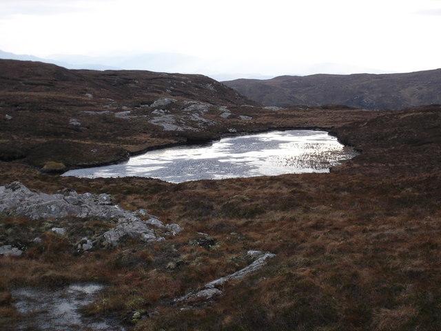 Unnamed Lochan South of Loch an Tuim