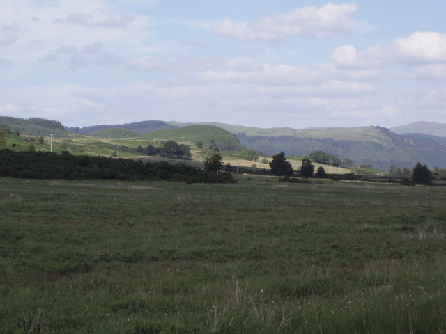 Fields to the north of Portnellan