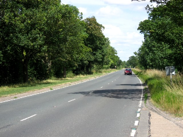 The B1230 Crossing Balkholme Common