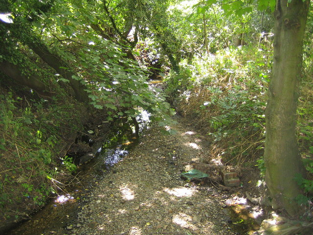 Rags Brook in Goff's Oak