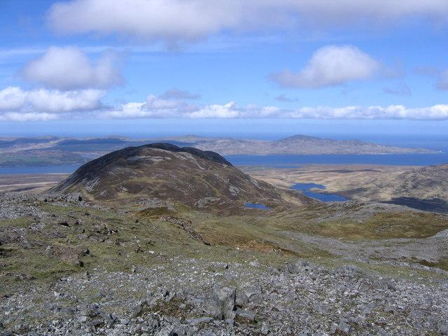Ridge from Glas Bheinn to Aonach-bheinn