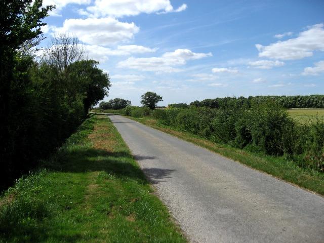 The Lane to West Linton Farm