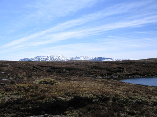 Rough Moorland to south of Loch Dubh a'Chuail