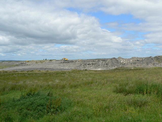 Open-cast coal mine