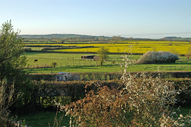 View across the Long Crendon Road, Shabbington
