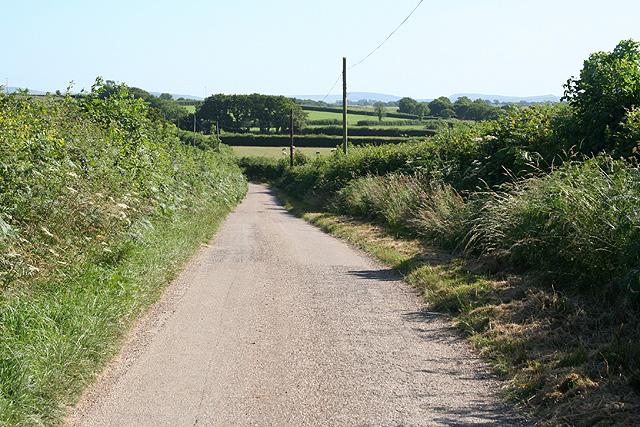 Hittisleigh: towards Easton Cross