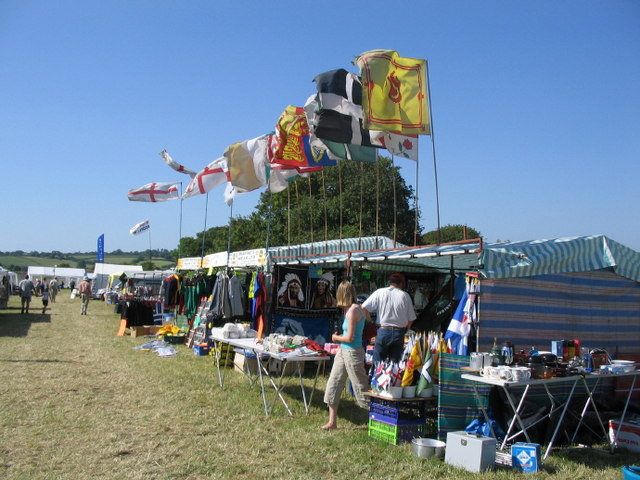 Stalls at the Somerset Steam Spectacular