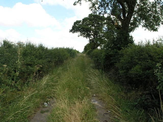 Track to Saundby
