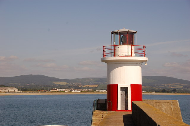 Lighthouse, Wicklow harbour