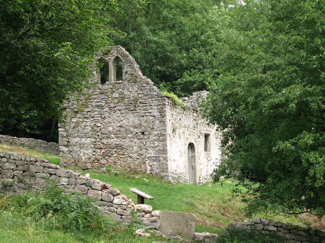 Ruined church of St James, Lancaut