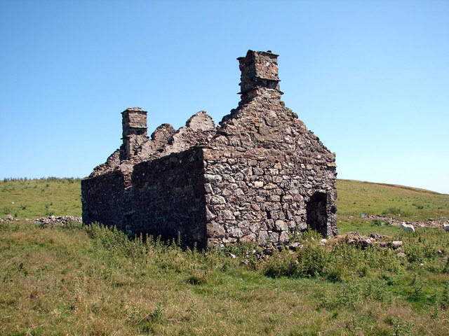 Ruined Cottage at Pant-gwyn