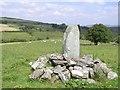 H6183 : Ogham Stone, Aghascrebagh by Kenneth  Allen