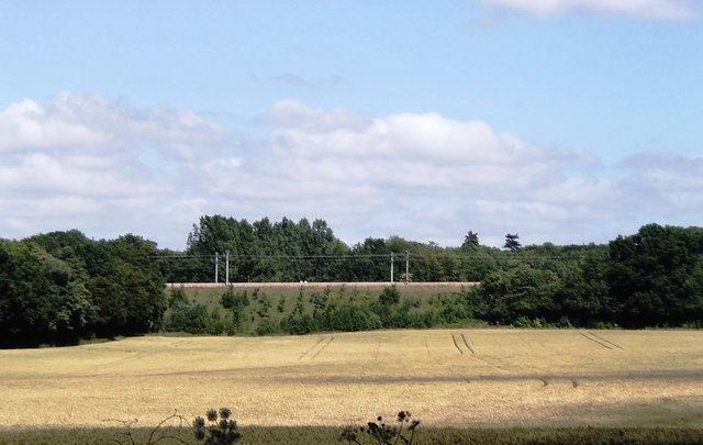 Field and railway