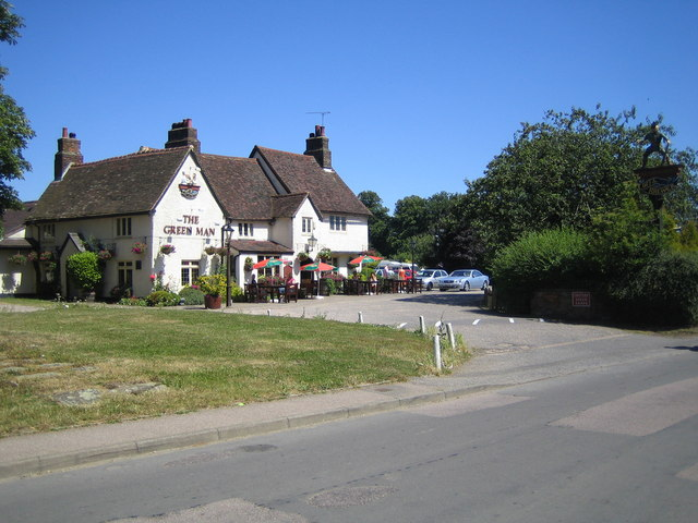 Great Offley: The Green Man