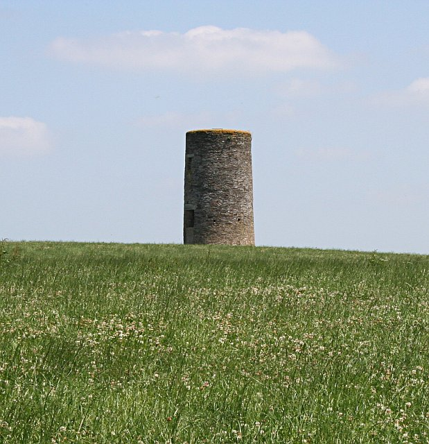 Old Tower Mill on the Hilltop