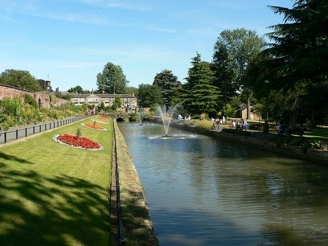 Canal Gardens, Roundhay, Leeds
