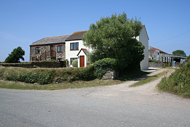 Farmhouse at Higher Rosewin