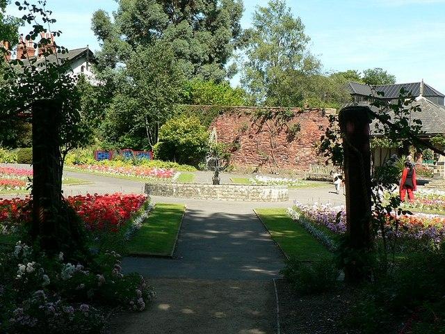 Formal garden, Canal Gardens, Roundhay, Leeds