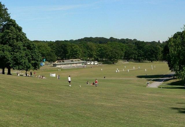 Cricket Field, Roundhay Park, Leeds