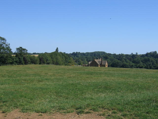 View towards Marsh House Farm