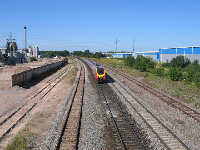 Site of Banbury yards