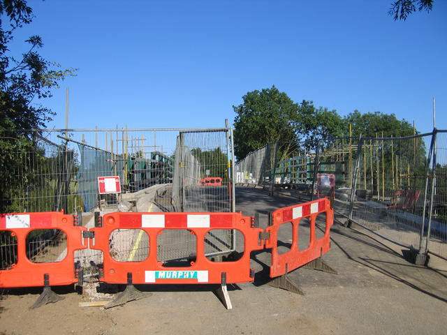 Oxhey Bridge reconstruction
