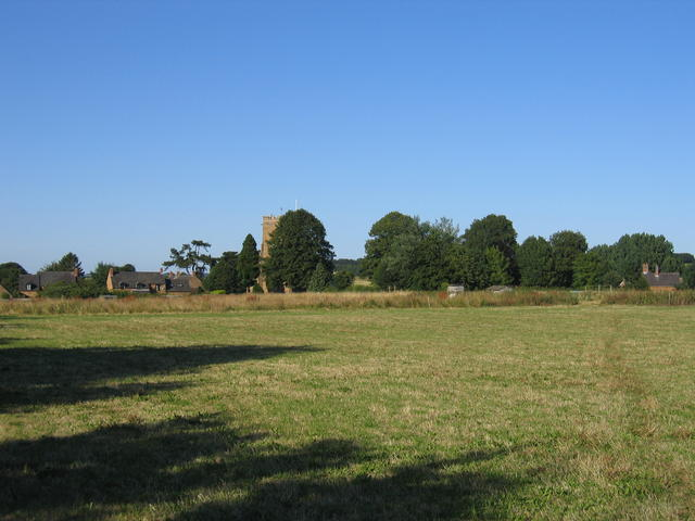 View towards Wardington