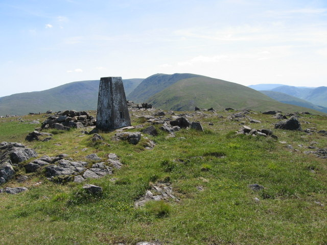 Trig point on Meaul S7987