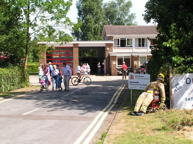 Wadhurst fire station