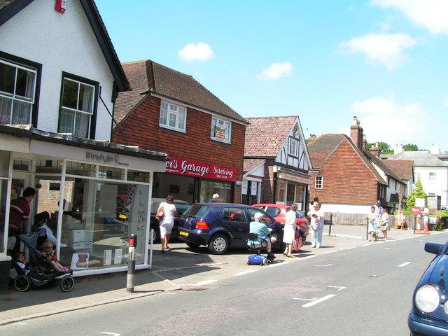 Wadhurst village (The former car showroom)