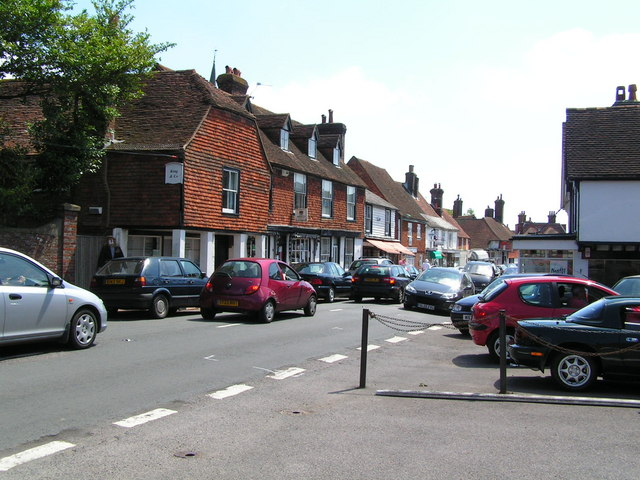 Wadhurst village (The Clock House)
