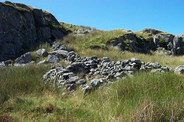 Sheepfold near Carreg-y-Big