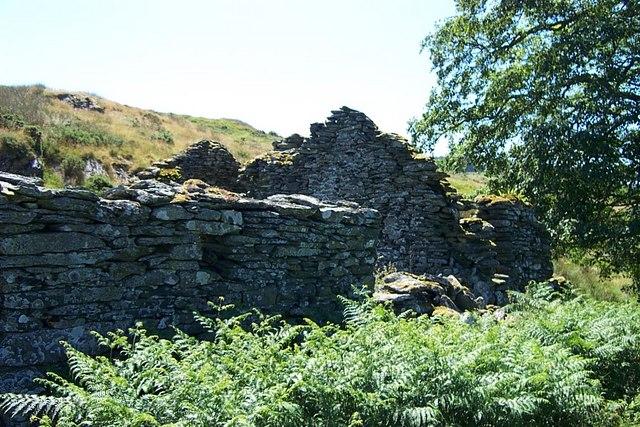Ffridd Wen ruins