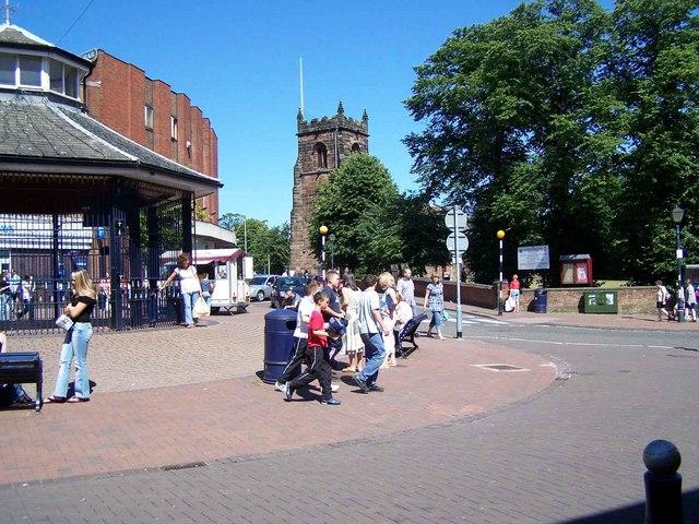 Market Place, Cannock