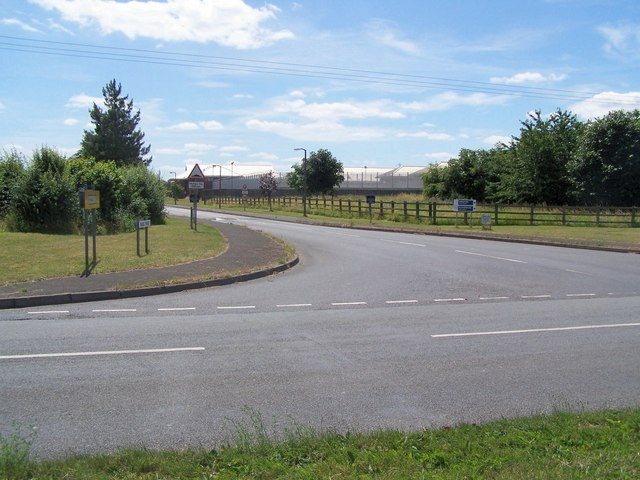 Entrance to Featherstone Prison