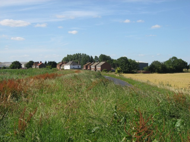 The Trans-Pennine Trail Through Skelton