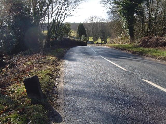 Milestone - 5 Miles to Chepstow on the B4228