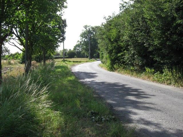 Bellcross Lane towards Howden
