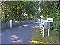 SJ4162 : Entrance to Eaton Park, Eccleston by michael ely