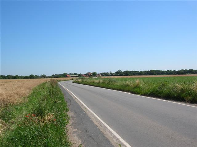 View towards Knedlington