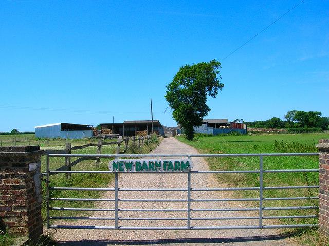 New Barn Farm near Hailsham