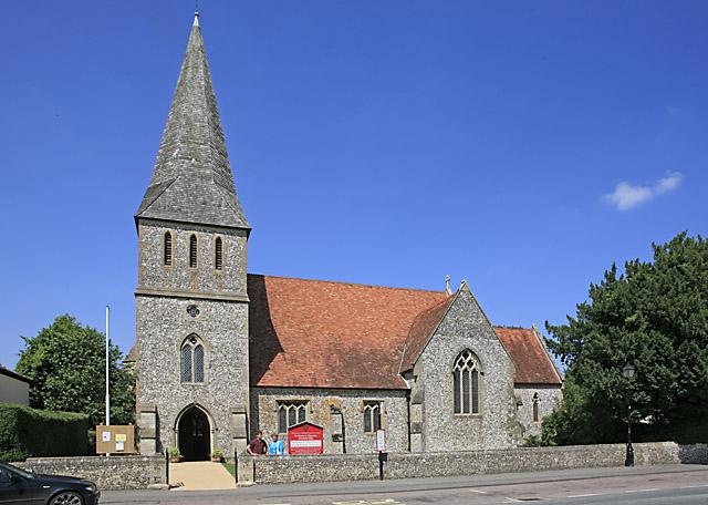 St Peter's church, Stockbridge