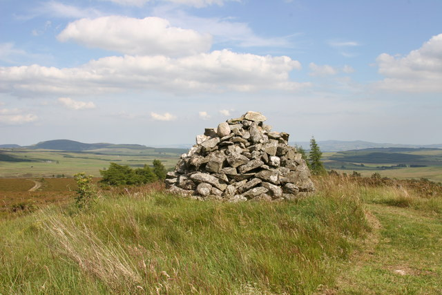 Cairn on Hill of Ashmore