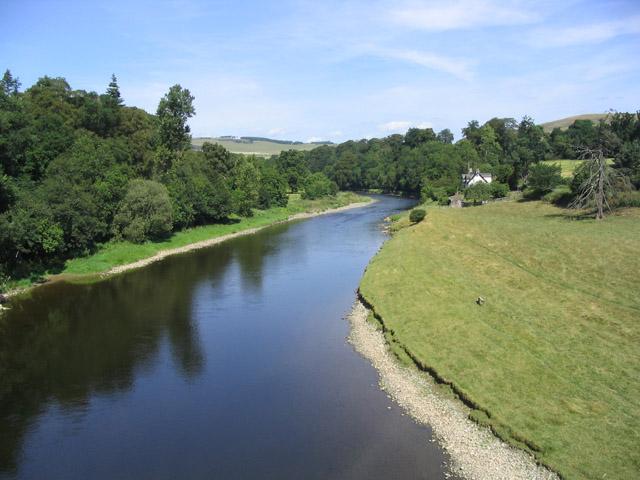 River Tweed from Lowood Bridge