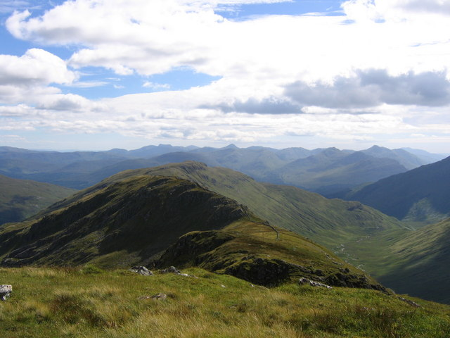 View from summit of Braigh nan Uamhachan