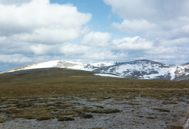 High montane scenery Cairngorms.